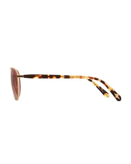 Men's Conduit Street Metal Sunglasses, Gold