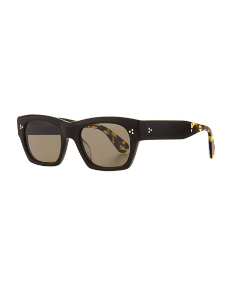 Oliver Peoples Men's Isba Acetate Sunglasses