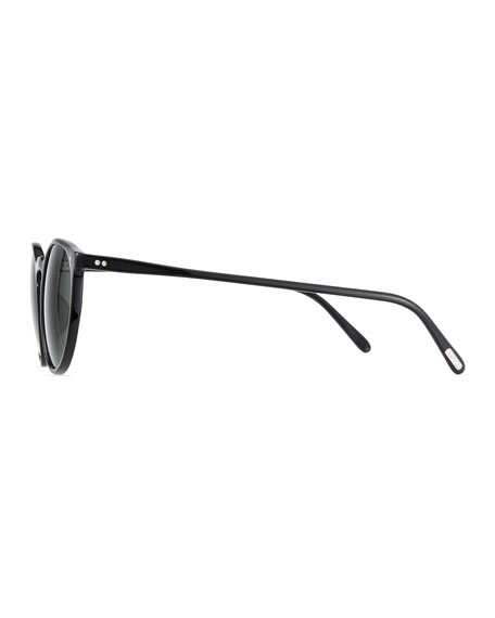 Men's O'Malley NYC Peaked Round Sunglasses