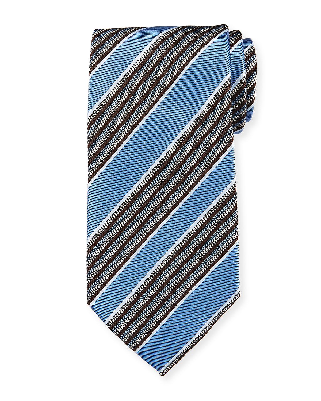 a551f7c5 Multi-Stripe Silk Tie