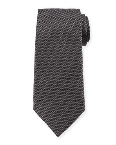 Rope Weave Silk Tie
