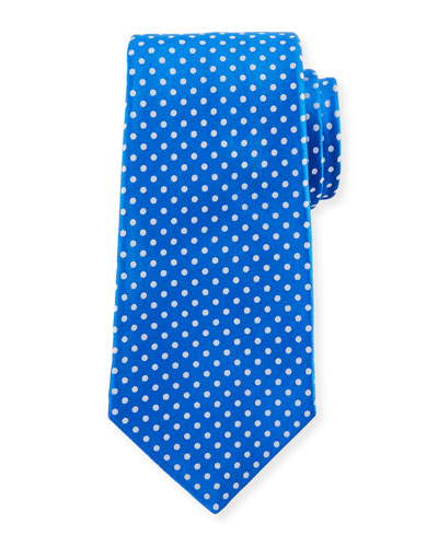 Medium-Dot Silk Tie