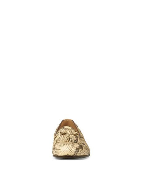Men's Loomis Python Slip-On Tassel Loafer