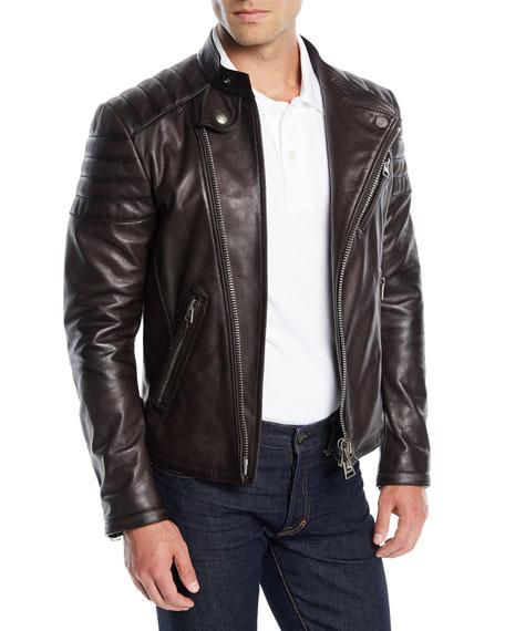 Men's Icon Leather Biker Jacket
