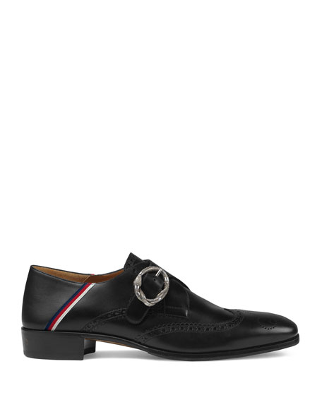 Men's Plata Monk Strap Fold-Down Loafer
