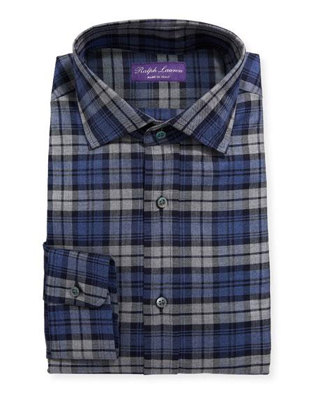 Ashton Large Multicolor Plaid Dress Shirt