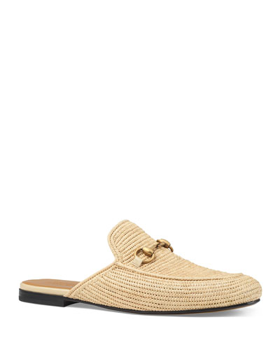 Men's Princetown Kings Raffia Mule Loafer