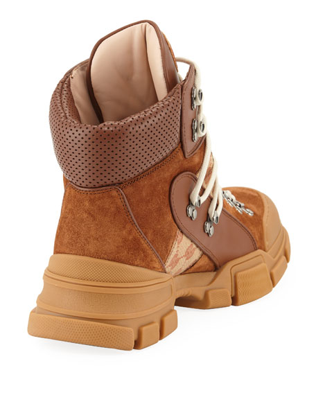 Leather and Original GG Trekking Boot