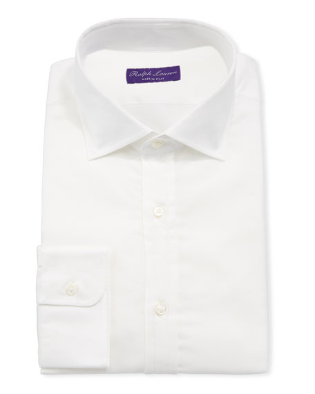 Men's Cotton Flannel Dress Shirt