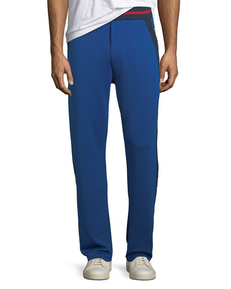 Iceberg Men's Side-Stripe Logo Track Pants