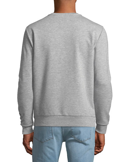 Men's Peanuts Linus Graphic-Applique Sweatshirt, Gray