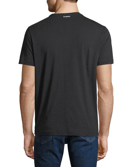 Men's Disney Fantasia Mickey Foot T-Shirt