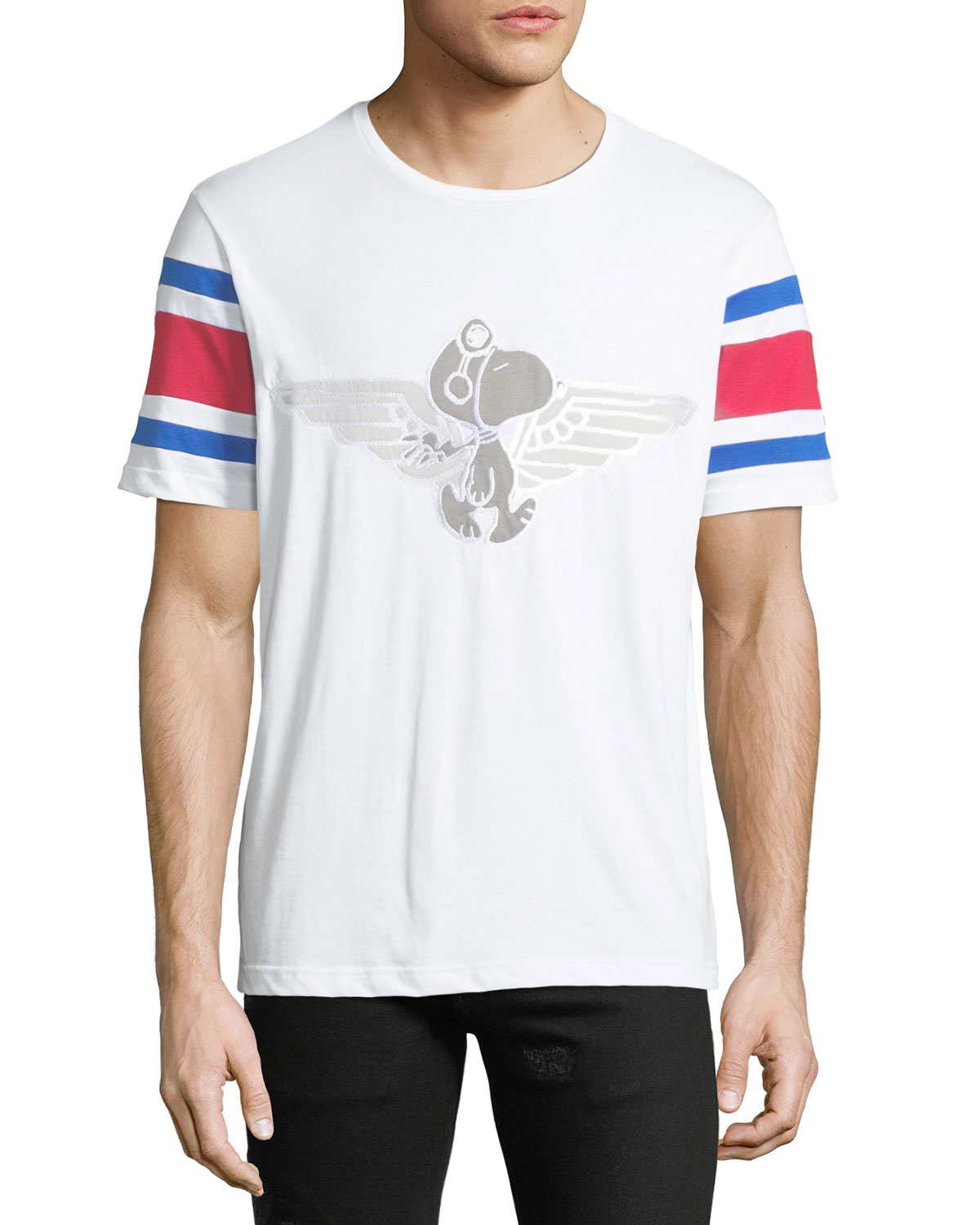 a8b3c73bc Iceberg Men's Peanuts Snoopy Flight Graphic T-Shirt | Neiman Marcus