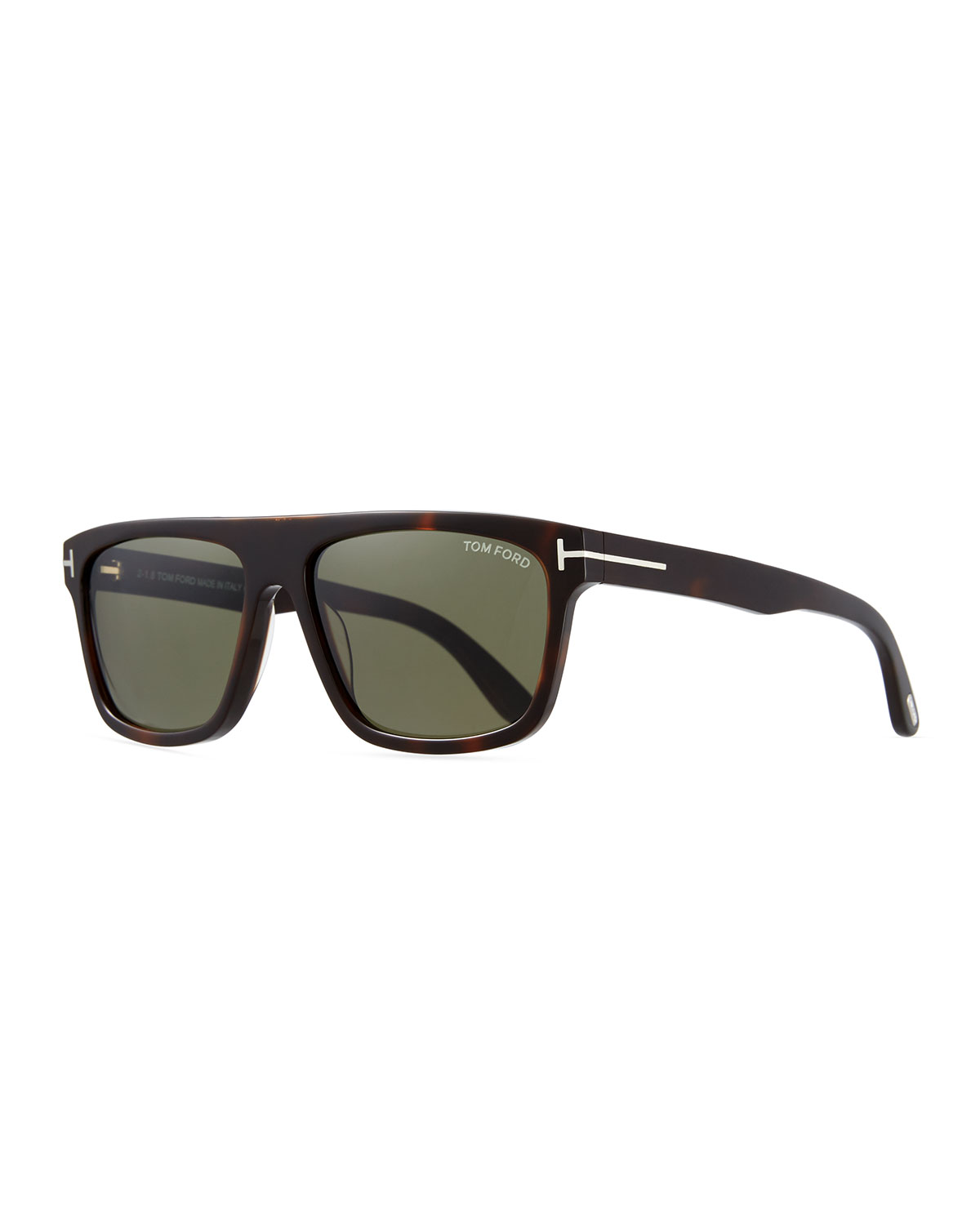 5566647246f2 TOM FORD Men s Thick Square Acetate Sunglasses