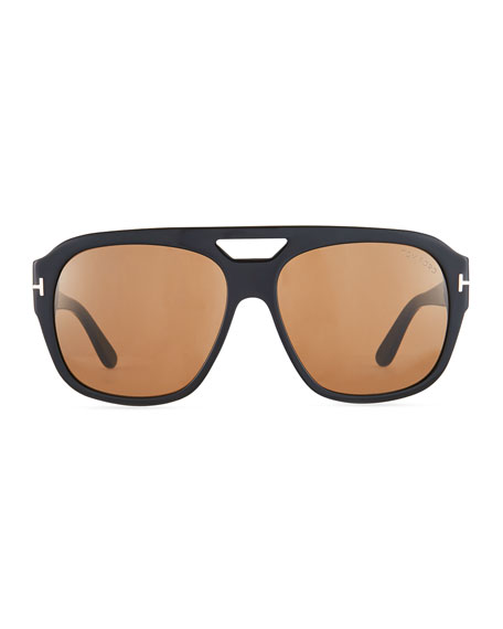 Men's Square Acetate Sunglasses