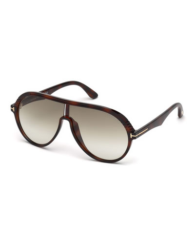 Shield Injected Sunglasses