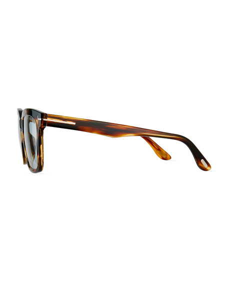 Men's Tortoiseshell Square Acetate Eyeglasses