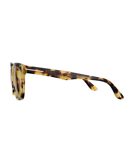 Men's Marco Tortoiseshell Acetate Sunglasses