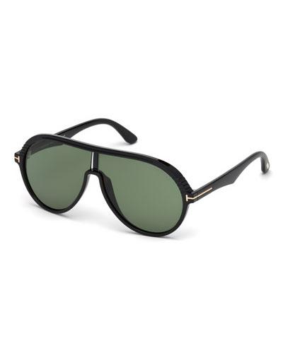 Men's Montgomery 02 Shield Injected Sunglasses