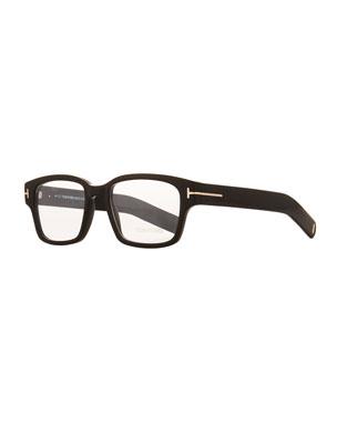 1139356d516 TOM FORD Men s Rectangular Plastic Eyeglasses