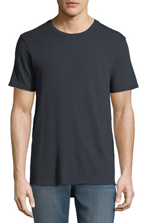 J Brand Men's Avus Raw-Hem T-Shirt