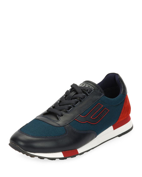Bally Men's Gavino Retro Runner Sneakers