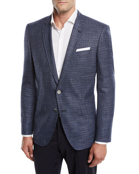 BOSS Hudson Slim-Fit Two-Button Jacket