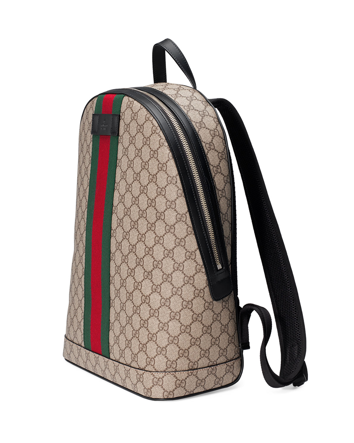 5278fa0f7 Gucci Men's GG Supreme Web Backpack with Laptop Sleeve | Neiman Marcus