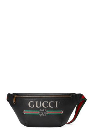 Gucci Men's Retro Logo Belt Bag/Fanny Pack