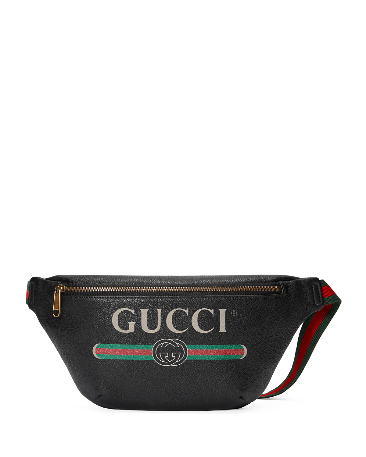 071f74eacd0 Gucci Men s Retro Logo Belt Bag Fanny Pack
