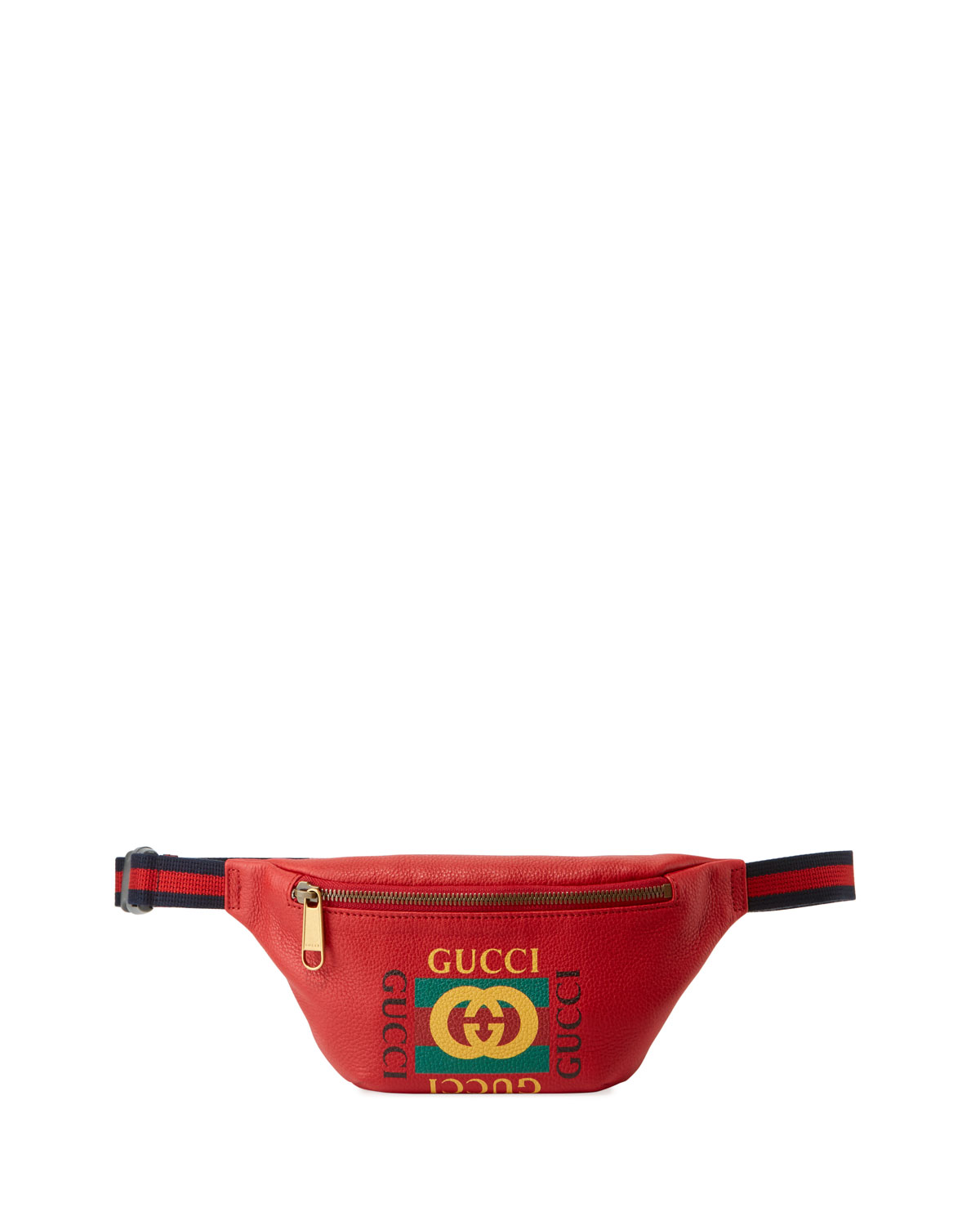 c2a648e2c18 Gucci Men s Small Retro Leather Fanny Pack Belt Bag