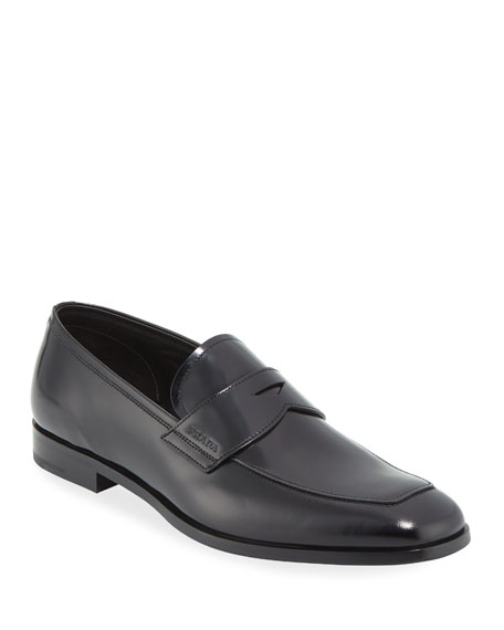 Mens Leather Penny Loafers Prada UcKHLw
