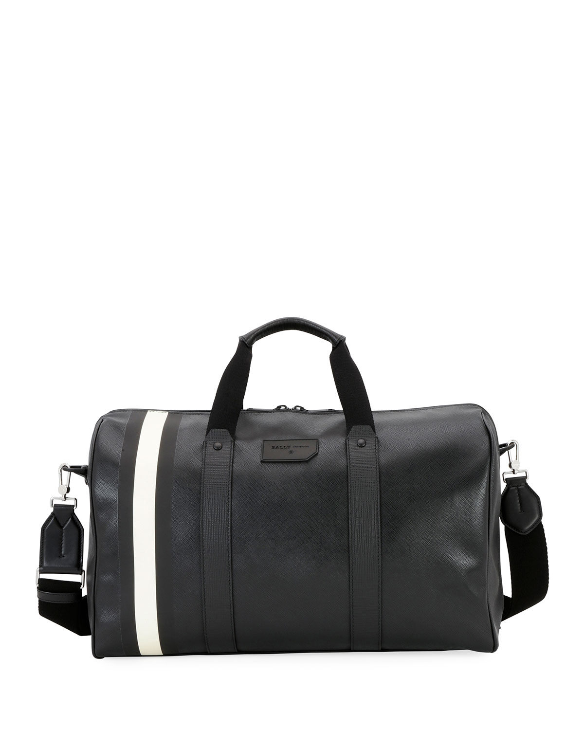 Men S Stuart Of0 Faux Leather Weekender Bag