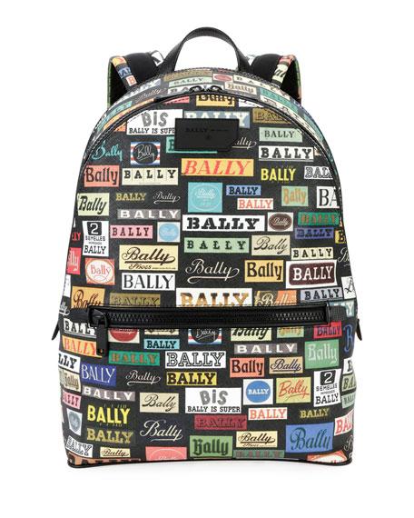 Men's Gattes Logo-Print Backpack