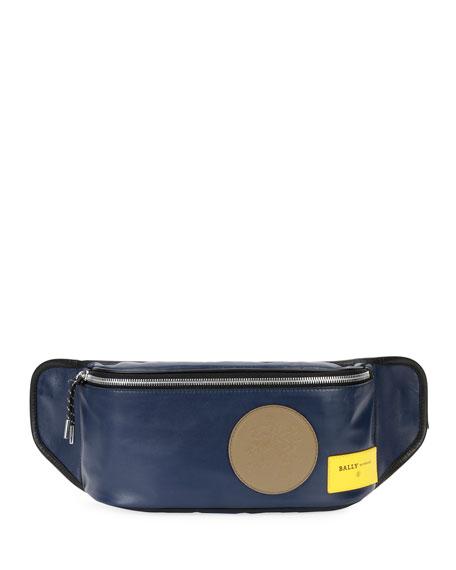 Bally Men's Break 77 Leather Belt Bag/Fanny Pack