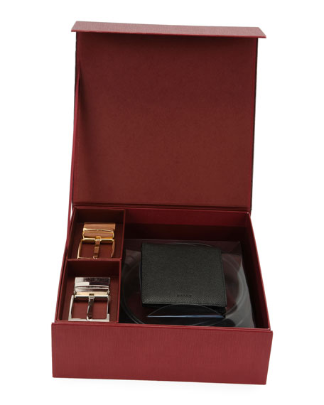 Men's Wallet & Belt Gift Set