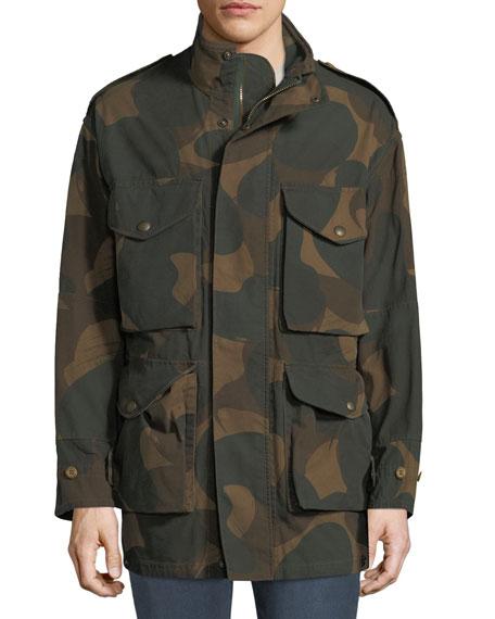 Men's Camo Field Jacket