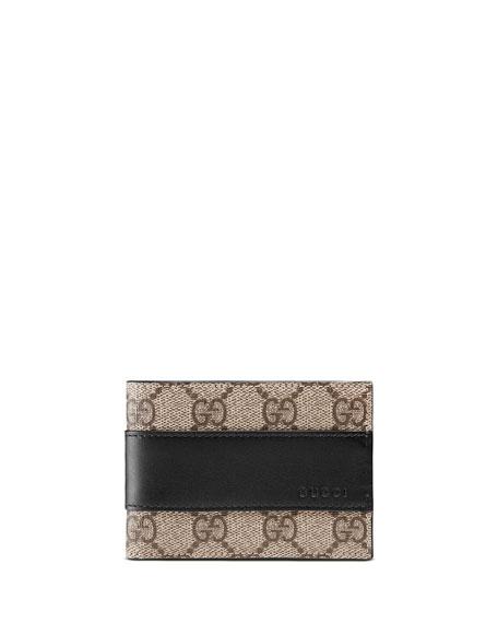 Gucci Men's GG Supreme Wallet