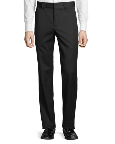 Men's Straight-Leg Trouser Pants