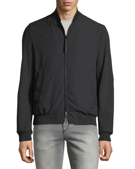 Men's Techno-Stretch Bomber Jacket