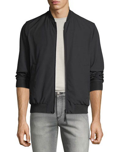 Men's Techno-Stretch Bomber Jacket
