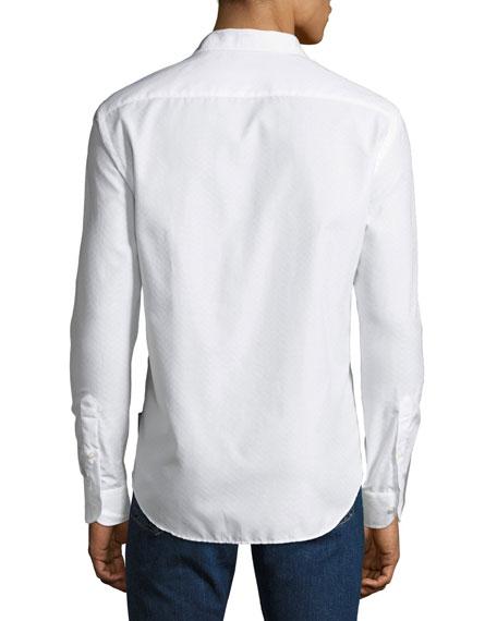 Men's Tonal Chevron Sport Shirt