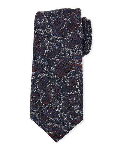 Antique Paisley Wool/Silk Tie