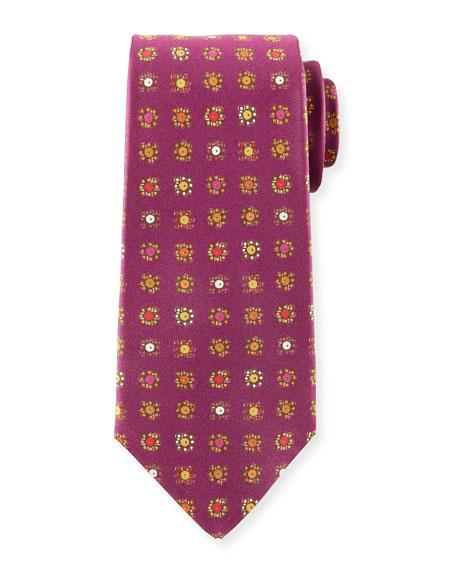 Kiton Circle in Box Silk Tie