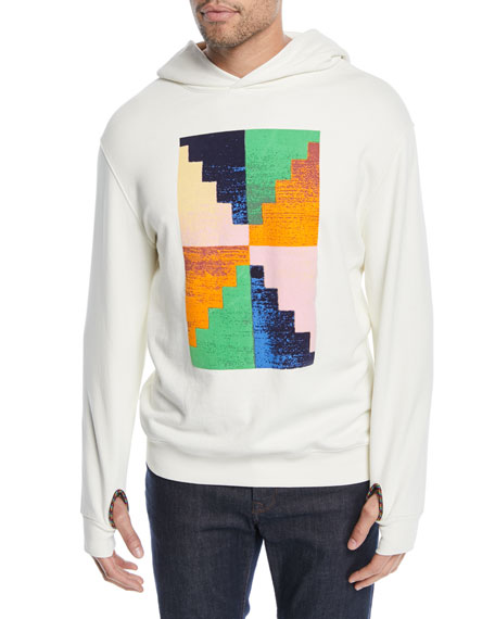 FRAME Pyramid Graphic Hoodie Sweatshirt