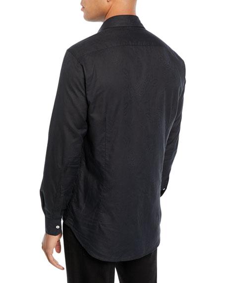 Men's Jacquard Sport Shirt
