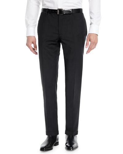 Men's Wool Tuxedo Pants