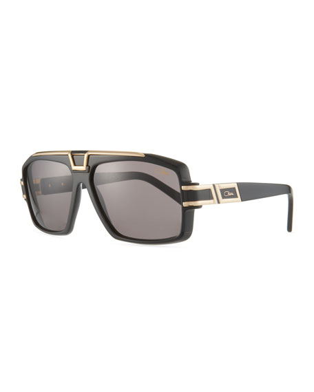Cazal Men's Square Acetate/Metal Sunglasses