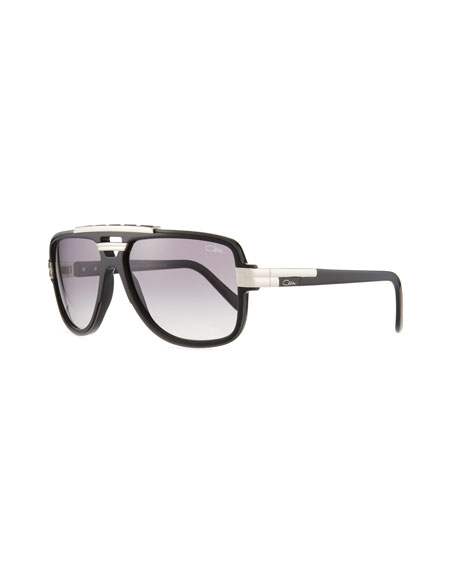 Cazal Men's Acetate Aviator Sunglasses