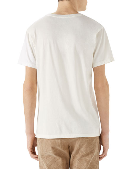 Men's Rabbit Logo-Graphic T-Shirt
